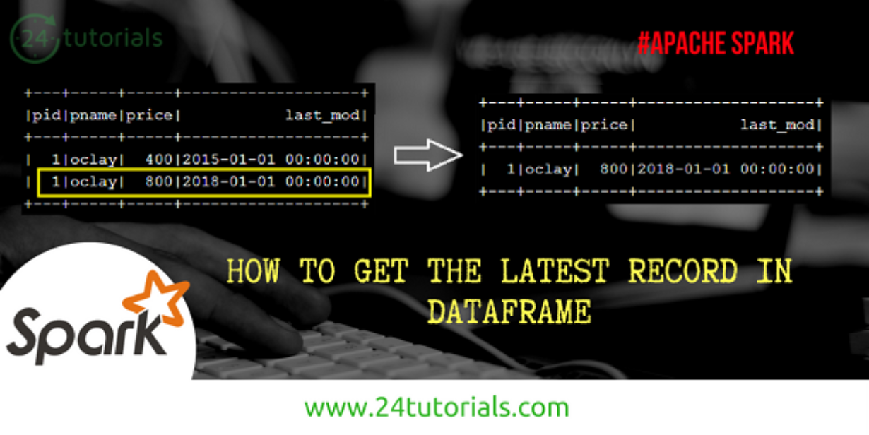 How to get latest record in Spark Dataframe - 24 Tutorials